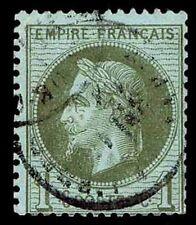 1870 FRANCE #29 NAPOLEON III UNWATERMARKED - USED - F/VF - CV $20.00 (ESP#2347)