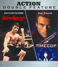 Bloodsport / Timecop Jean Claude Van Damme Blu Ray BRAND