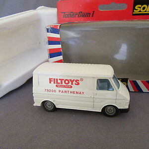 318C Solido 388 France Citroën C35 Filtoys 1:43 + Boite