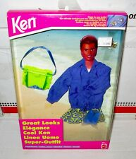 Nrfb Great Looks Ken Outfit Beach Style with Charm