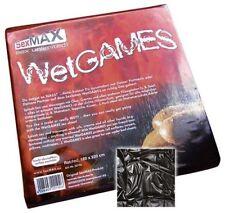 SEXMAX WETGAMES Sex-laken 180 X 220 Cm schwarz