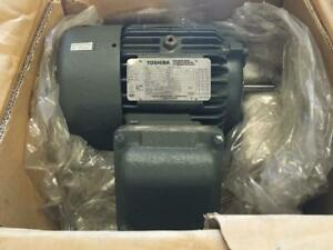 Toshiba 2 HP Motor, Cat No. 0022XPEA31A-P, 3475 RPM, XPFC, 145T Frame, 230/460V