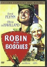 THE ADVENTURES OF ROBIN HOOD (1938 **Dvd R2** Errol Flynn, Olivia De Havilland