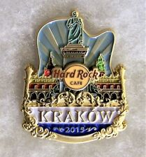 HARD ROCK CAFE KRAKOW LIMITED EDITION ORIGINAL ICON CITY SERIES PIN # 85381