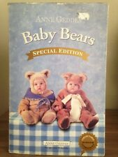 Anne Geddes Special Edition Baby Bears 2000 Collectable 14' Brand new
