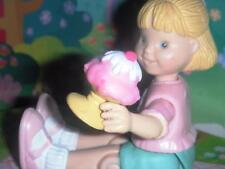Dollhouse Ice Cream Sundae w/Cherry & Barbie Wafer Milkshake Barbie Food Lot