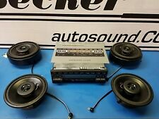 Mercedes  E Class 124 1986-1990 OEM upgrade system with Bluetooth streaming