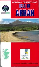 Map of Isle of Arran, Scotland, by Official Tourist Council