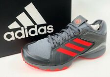 NEW ADIDAS Mens Field HOCKEY LUX 1.9S Gray Athletic AC8770 Shoes Cleats 7 7.5 8