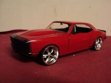 "Jada 1967 Chevrolet Camaro ""custom wheels""  1/24 scale used no Box  2016 release"