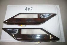 1994-2001 BMW E38 740I 740IL REAR INTERIOR MAP READING LIGHTS WOOD GRAIN A110