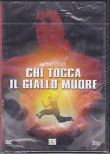 Dvd **CHI TOCCA IL GIALLO MUORE** con Jackie Chan nuovo 1980