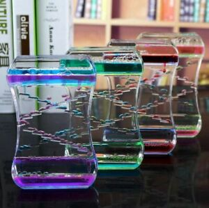 Droplet Gel Oil Bubbles Sculpture Office Desk Table Raindrop Water Liquid Motion