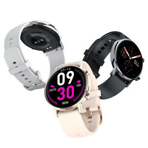 Microwear SG3 AMOLED Smart Watch Heart Rate Monitor Fitness Tracker + Free Band