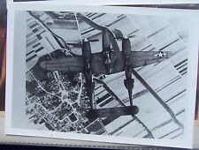 P-38 Flying high approx. 5 x 7 reproduction