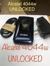 Alcatel GO FLIP 4044w Camera UNLOCKED GSM 4G LTE WiFi 4GB Blue Original T-mob