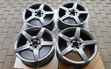 Originale AMG Cerchi 7,5 J + 8,5 J x 18 pollici Mercedes CLK, SLK, W 203 Grigio Himalaya