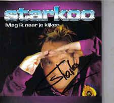 Starkoo-Mag Ik Naar Je Kijken cd single gesigneerd