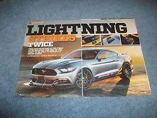 "2015 Mustang S550 Custom Article ""Lightning Strikes Twice"" F-35"