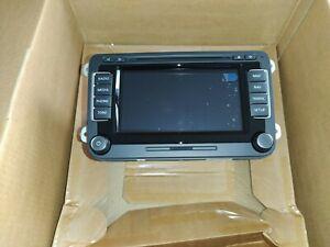 VW RNS510 DAB SSD Navigationssystem BRANDNEU Golf Passat Tiguan Sharan Touran T5