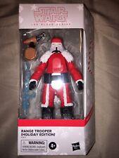 Star Wars Black Series Range Trooper Holiday Edition Target Exclusive SANTA