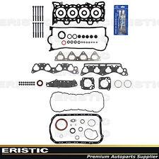 96-00 Full Gasket Set w/ Head Bolts Honda Civic 1.6L SOHC VTEC D16Y5 D16Y7 D16Y8