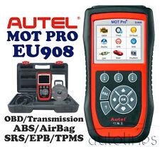 AUTEL MOT PRO EU908 Diagnostic Scanner Tool OBDII OBD2 Code Reader EPB SRS TPMS