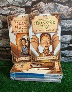 Bruce Coville's Magic Shop Books Complete Set 1-5 Children's Books Free P&P