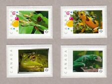 FROGS = Set of 4 Picture Postage stamps MNH Canada 2016 [p16/09fr4]