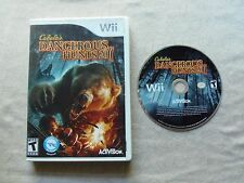 Cabela's Dangerous Hunts 2011 -- Special Edition (Nintendo Wii, 2010) (CIB)