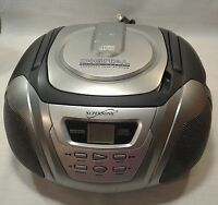 Portable CD Player Compact Disc Radio AM FM Boombox Supersonic Working Vintage