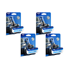 4 PCS Philips Headlight Bulb For 13-17 Chevrolet Equinox High Beam + Low Beam