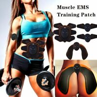9pcs/set Smart Black EMS Hips Trainer Electric Muscle Wireless Buttocks
