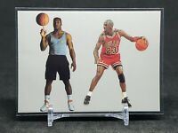 "1989-90 Michael Jordan & Bo Jackson ""Bo Knows Jordan"" Promo Card, Bulls"