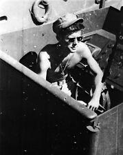 New 8x10 Photo: Future President Lt. John F. Kennedy aboard the PT-109 -- 1943
