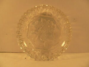 molded glass fruit pattern Dish