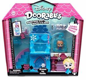 Disney Doorables - Frozen Ice Castle Play Set Toy Figure New