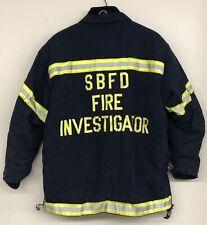 FIRE INVESTIGATOR Jacket & Pants; Globe Black Firefighter/ EMS Gear Suspenders