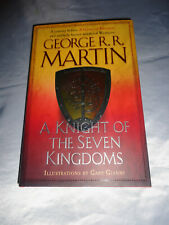 A Knight of the Seven Kingdom by George R R Martin SIGNED 2015 Hardcover