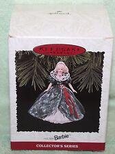 Hallmark Keepsake Holiday Barbie Ornament 1995
