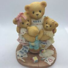 Cherished Teddies Katie Renee Jessica Matthew 538299 Mom Bear Surrounded by Hugs