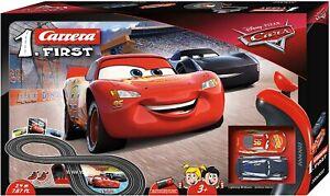 Carrera Pixar Disney Cars Lightning McQueen Slot Car Race Track Set 20063022 NEW