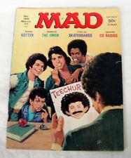 Vintage Mad Magazine #189 March 1977 Welcome Back Kotter