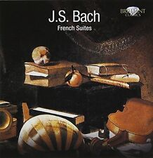 PIETER-JAN BELDER - FRENCH SUITES 2 CD NEW+ BACH,JOHANN SEBASTIAN