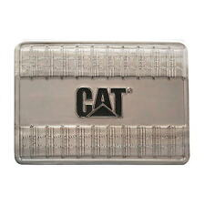 "Caterpillar CAT Equipment 4"" Nickel Alloy Tread Plate Mens Belt Buckle Silver"