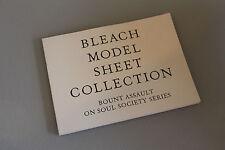 BLEACH MODEL SHEET COLLECTION BOUNT ASSAULT ON SOUL SOCIETY SERIES ART BOOK.