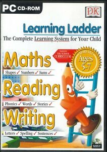 DK Learning Ladder Years 1 and 2 Maths, English & Science Lessons PC CD-ROM