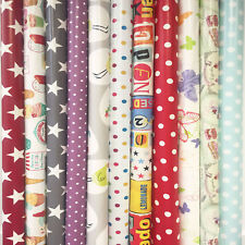 Wipe Clean Tablecloth Oilcloth Vinyl PVC Many Designs & Colours 140cm x 200cm