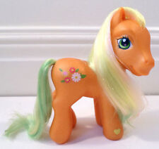 My Little Pony G3 MLp 2004 MY G3 Spring Parade Orange with Flowers