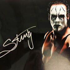Signed Sting Wrestling Photograph